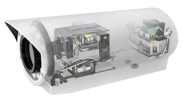 Модуль IP-камеры в термокожухе