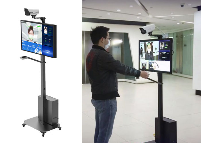 Интегрированная система контроля температуры тела (запястья) UNV CW180