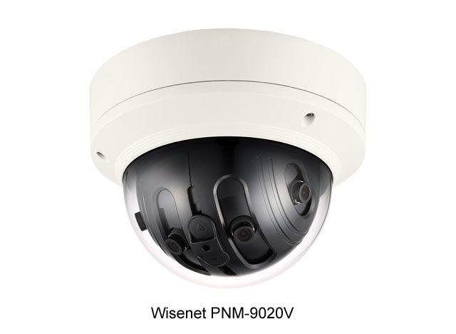 Мультисенсорная панорамная IP-камера Wisenet PNM-9020V