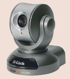 Поворотная сетевая камера D-Link DCS-6620