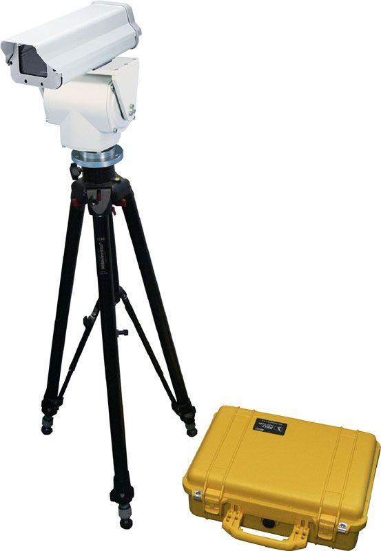 Беспроводная система видеонаблюдения со временем развертывания 5 минут
