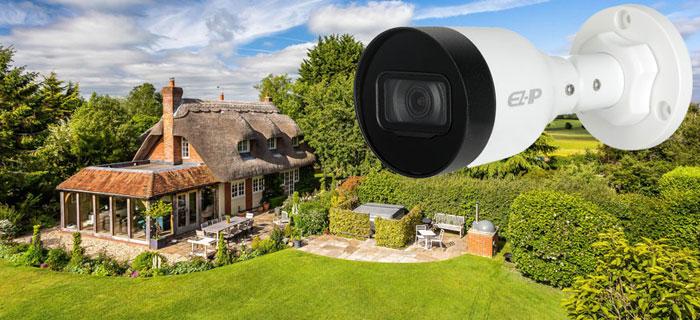 Видеонаблюдение в загородном доме и на дачном участке
