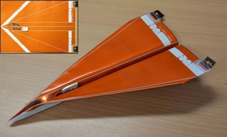 Планирующий беспилотник Polyplane напоминает бумажный самолётик из школьного детства
