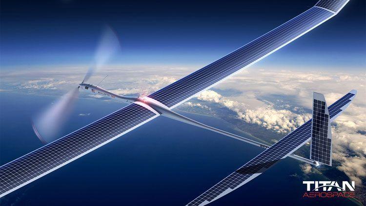 Будущий рекордсмен по высоте полёта среди беспилотников — Solara 50 компании Titan Aerospace