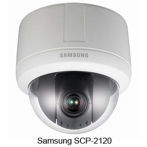 Миникупольная PTZ-камера высокого разрешения SCP-2120