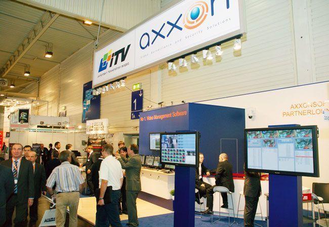 Стенд ITV/Axxon на выставке Security Essen -- 2010 оказался весьма оживлённым местом.
