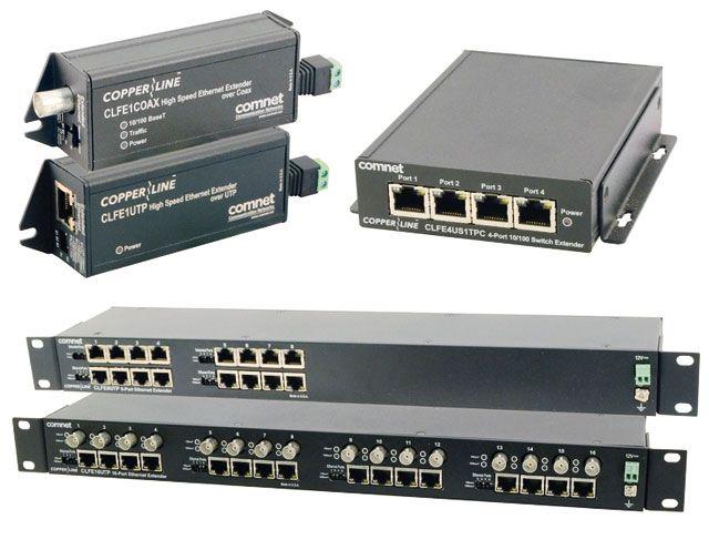 CopperLine - Ethernet по витой паре или коаксиалу